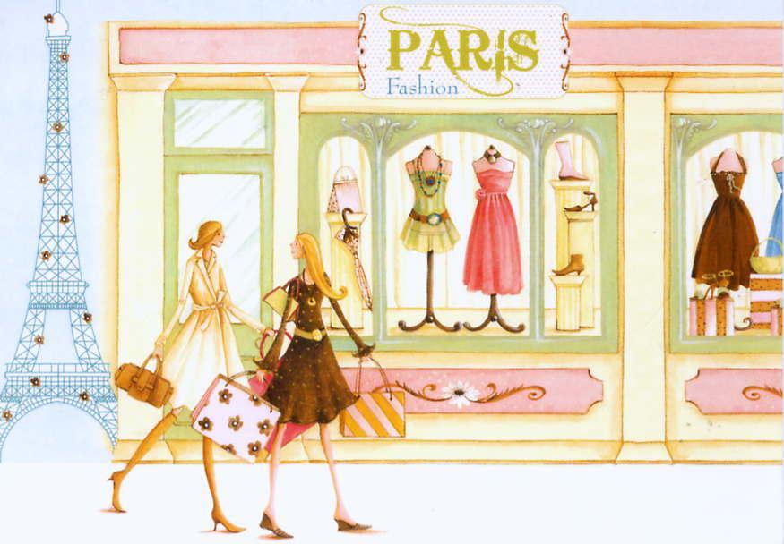 D jeuner sur le pouce rue saint honor agn s malouine du - Dessin parisienne ...