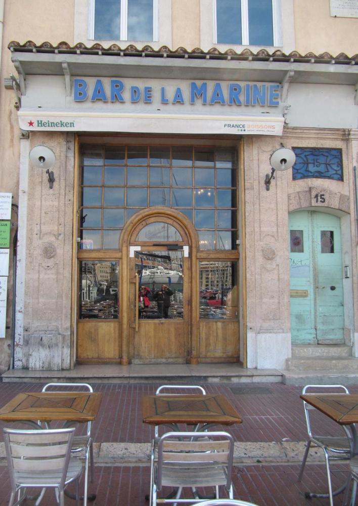 Le Bar de la Marine à Marseille (1/6)
